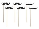 Photo Props - Moustache, 6 pak