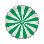 Assiette, Green stripe, 8-pak