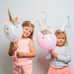 Balloon kit, Unicorn, 4-pak