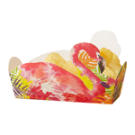 Food tray - Flamingo - 5 pak