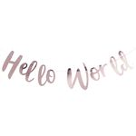 Guirlande - Hello World