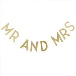 Guirlande - Mr & Mrs - Gold