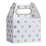 Party boxe - Gold Dots - 5 pak