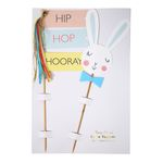 Kagedekoration - Happy Bunny - 2-pak