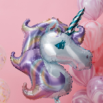 Ballon - Folie - Unicorn