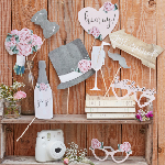Photobooth Props - Bryllup - Rustic Country