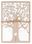 Invitationskort,Tree of love, natur
