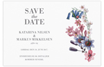 Save-the-date,<br>Dazzling Flowers