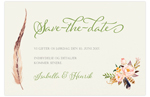 Save-the-date,<br>Bohemian Feeling