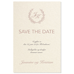 Save-the-date, Lovely Laurel
