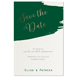 Save-the-date, Love 'n' paint