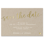 Save-the-date, Rustic Love