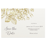 Save-the-date, Fleurs d'or