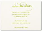 Save-the-date kort, vanille, 93136sd